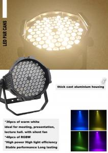 China Aluminium RGBWA 84pcs*3W DMX LED Par Can Light with High Brightness (P84-3-A) on sale