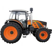 Durable 4WD Green Diesel Mini Tractor , Compact Garden Tractor High Reliability