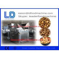 China Automatic Peanut Processing Machine , Electric Peant Frying Processing Machine on sale