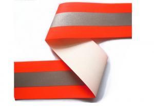 China A fita reflexiva vermelha/do verde segurança da tela, retro costura na fita reflexiva para a roupa on sale