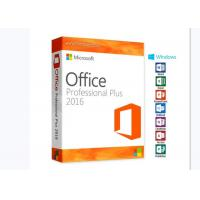 China PC Computer MS Office 2016 Pro Plus Product Key Microsoft Office Product Key on sale