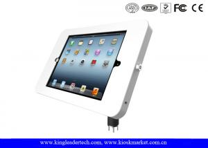 China Desktop Mounted iPad / tablet kiosk stand with Metal Material Flexible Goose Neck on sale