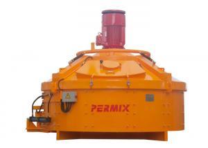 China Steel Heavy Duty Cement Mixer / Concrete Batch Mixer Compact Structure supplier