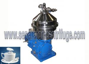 China Vertical Style Three Phase Disc Stack Centrifuges for Milk Purifying on sale