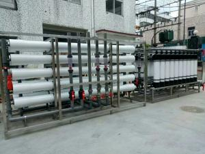 China Non Toxic Water Processing Equipment , Ro Water Purifier Machine EDI Unit Membrane on sale