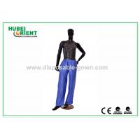 Anti Dust Breathable Long Disposable Pants PP Nonwoven for Hotels