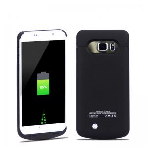 China Backup Battery Magnetic Charging Case Rechargable Power For Samsung Note 5 / Galaxy 5 on sale