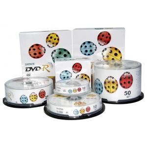China La surface de fonctionnement parfaite et le rétrécissement vide des disques d'impression/DVD-R 50pcs ont enveloppé l'emballage on sale