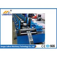 China Full Automatic Strut Channel Roll Forming Machine , Solar Support Channel Roll Forming Machine on sale