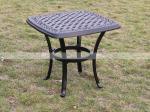 BML12253 alumicastの正方形の側面のテーブルの現代藤のコーヒー テーブル セット