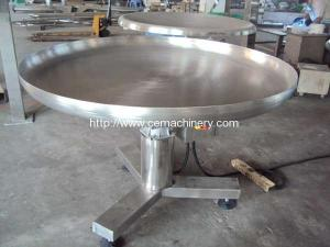 China Rotary Collection Table for Food or Bags or Cartons on sale