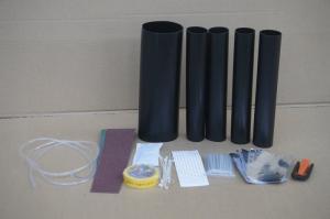 China plastic FTTH fiber optic splitter enclosure , attachment heatshrink IP68 on sale