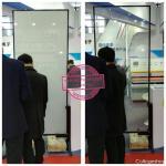 porta de vidro switchable, porta de vidro moderada, porta de vidro esperta à prova de fogo, vidro inteligente de PDLC