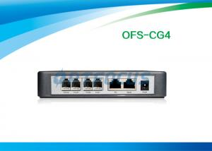 China RJ45 FXS Voip Gateway 2 Port Ethernet Router CDR Wall Mountable Volume Control on sale