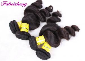 China Real Peruvian Human Hair Extensions , Peruvian Wavy Virgin Hair For Black Women on sale