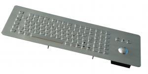 China USB kiosk self - service terminal metal keyboard with numeric keypad on sale