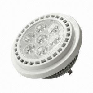 China AR111 Spotlight, 7-piece of LEDs, 1W High Power LED, 700lm Brightness, 85 to 265V AC on sale