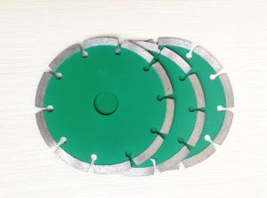 China 100mm diamond sintered saw blade for tiles and bricks on sale