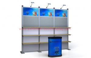 China 10x10 feet Portable  modular trade show booth display on sale