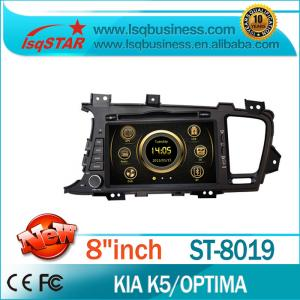 China HD Touch Screen KIA DVD Player With USB SD Slot on sale