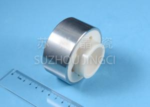 China 99% Alumina Ceramic Parts , Alumina Ceramic Sleeves With Stainless Steel Sewage Treatment on sale