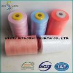 100% Dyed Polyester Sewing Thread  5000m/cone 20S/6 100% Polyester spun yarn Material  polyester sewing thread  Product