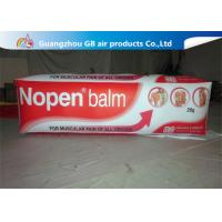 China Advertising Inflatable Balm Carton / Blow Up Unguent Bottle Model For Promotion on sale