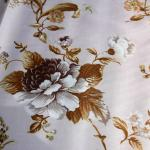 100% polyester voile free sample patterned voile curtain