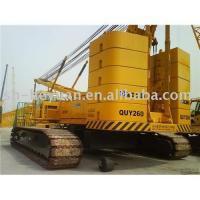 260 ton crawler crane (xcmg mobile crane) hydraulic crane