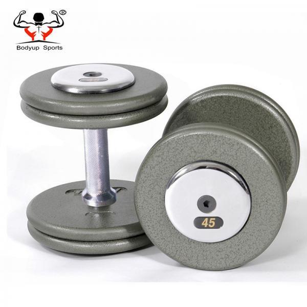 Steel Handle Gym Fitness Dumbbell , Adjustable Dumbbell Set