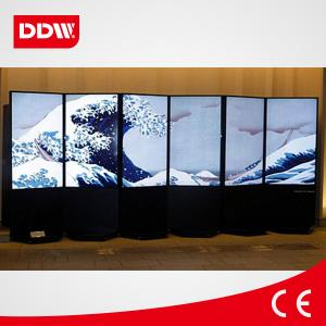 China 55inch network floor standing digital signage,standing lcd advertising playe on sale