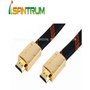 China Full metal housing HDMI To HDMI 1.4V Cable on sale