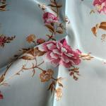 100% polyester voile free patterned sheer curtain