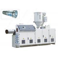 China Precision Temperature Control PPR PC Plastic Extrusion Equipment With Single Screw on sale