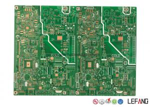 China Industrial Equipment Controller Tg 140 PCB , High Current PCB Circuit Board 2 Layer on sale