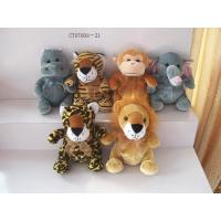Custom Shaped Animal Plush Dolls Forest Plush Toy For Kids Zoo Animal