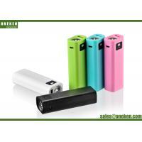 Portable USB 5V / 1A 2600mAh 18650 Power Bank With LED Flash Light