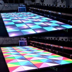 China New design indoor and outdoor Dance Floor LED Screen ,hot sales disco bar floor LED video wall/LED dispaly on sale