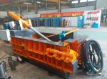 Durable Baling Press Machine , Scrap Metal Baler 125 Tons Baling Force