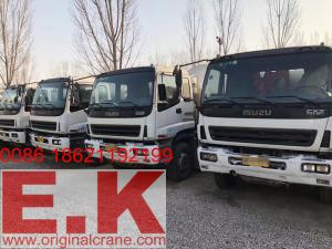 China 2010 Year Used Mixer Truck Isuzu Concrete Mixer Truck (12CBM) on sale