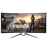 G-STORY HDR Curved 35 Inch Gaming Monitor For Home TV Video Game Console