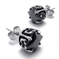 Fashion High Quality Tagor Jewelry Stainless Steel Earring Studs Earrings PPE281