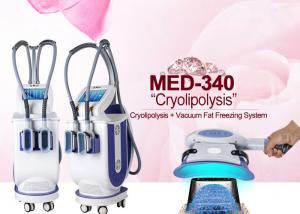 China Cryotherapy Vacuum LED Weight Loss Fat Freeze cryo lipo machine With 2 Handpieces on sale