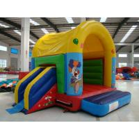 Colorful Inflatable Toy Inflatable Mini Combo Jumper With Inflatabe  Slide
