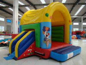 China Colorful Inflatable Toy Inflatable Mini Combo Jumper With Inflatabe  Slide on sale