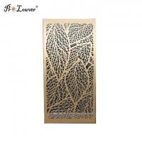 High Quality Customized Design CNC Laser Cut Aluminum Panel Used for Home Decoration