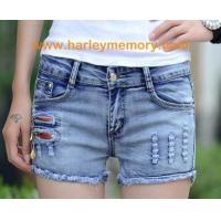 China Spring Fashion woman jean pant, short pants on sale