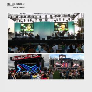 China Waterproof Outdoor Rental LED Display , P6 Rental LED Display SMD3535 LED Chip on sale