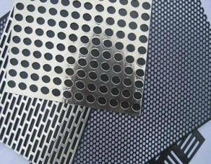 China Hojas de aluminio perforadas on sale