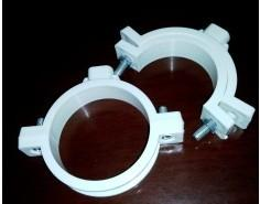 Quality PVC plastic wall mount pipe cl& for irrigation systerm for sale & PVC plastic wall mount pipe clamp for irrigation systerm for sale ...